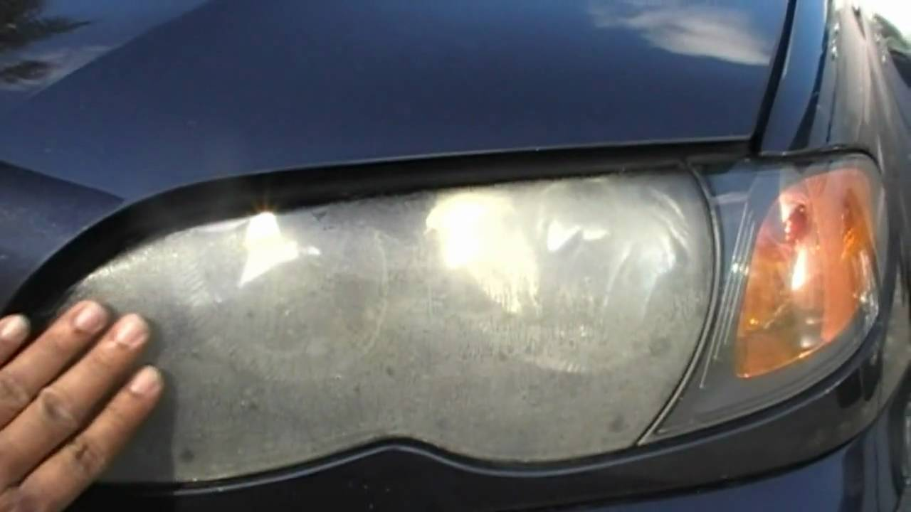 Bmw 325i Ugly Hazy Headlight Restoration By Headlight