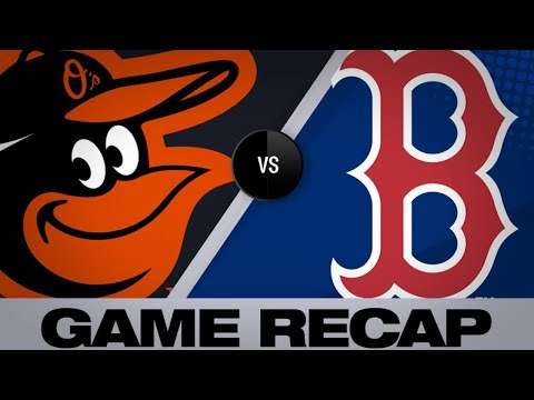 Nunez propels Red Sox to win over O's - 4/12/19