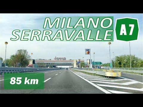 A7 | MILANO - SERRAVALLE | Autostrada Dei Giovi