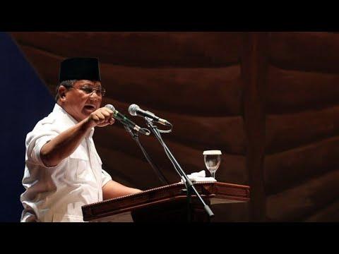 Maju Mundur Deklarasi Prabowo di Pilpres 2019