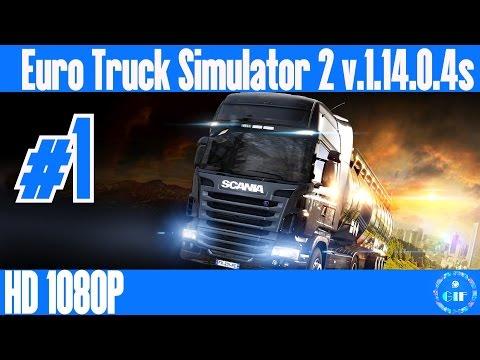 EURO TRUCK SIMULATOR 2 - Gameplay Walkthrough  No Commentary - Part 1 [München - Stuttgart]