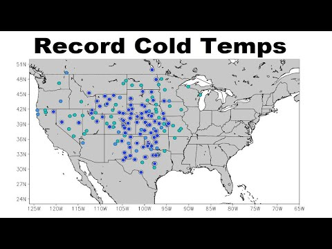 GSM Update 10/17/18 - Record Early Cold & Snow Central US - Michael Death Toll Rises - Texas Fluxed