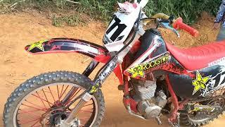 (como fazer cobrinha de moto)e a moto de trilha mais preparada do Brasil