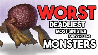 9 WORST Monsters in D&D!!