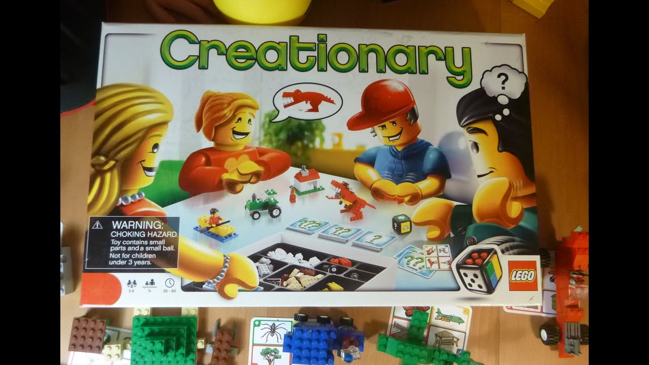 Lego 3844 Creationary Game Review Thrift Store Find Unboxalot 042