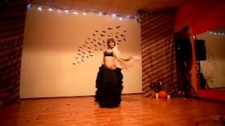 Lelyana Stanishevskaya-  terrible tribal fusion dance