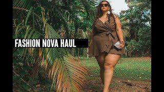 PLUS SIZE FASHION TRY ON HAUL | So much COLOR! Fashion Nova Curve | Sometimes Glam