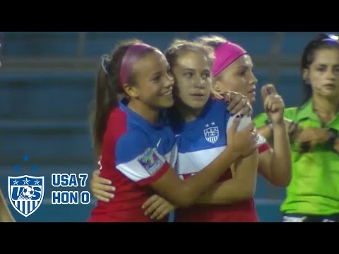 U-20 WNT vs. Honduras: Highlights - Dec. 11, 2015