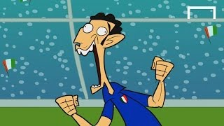GOALTOONS: Italy's World Cup history