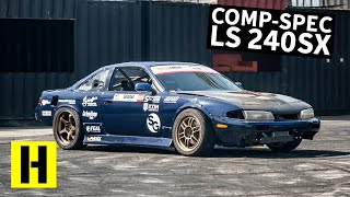 5.3l Swapped 240sx Shredder: Less Talk. More Drifting!