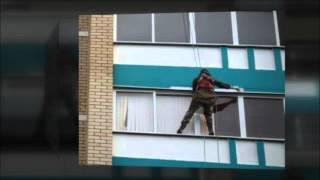 Высотный монтаж систем видеонаблюдения