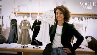Léna Situations visits the Dior couture workshop   Vogue Paris