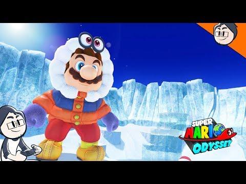 WELCOME TO THE SNOW KINGDOM! - SUPER MARIO ODYSSEY WALKTHROUGH #7