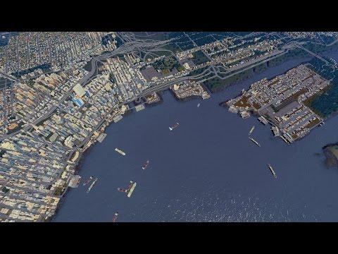 Seattle Tsunami - Cities Skylines |