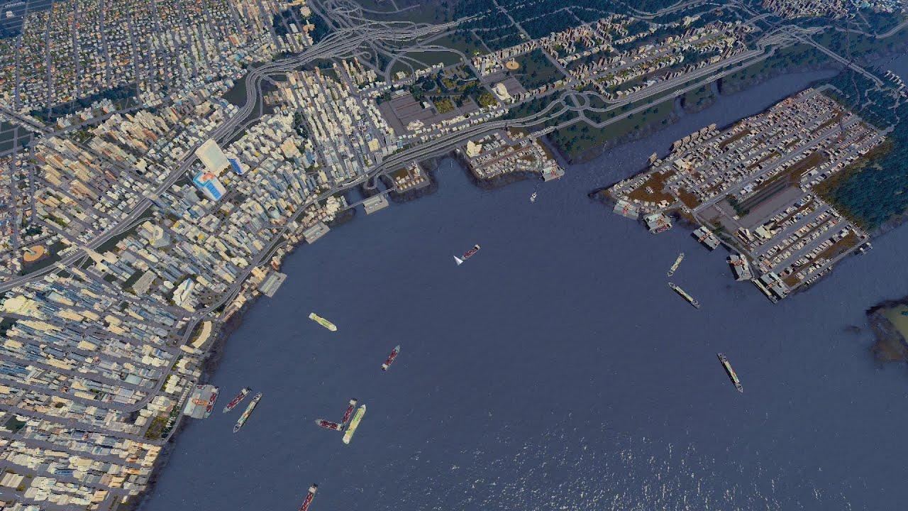 Seattle Tsunami Cities Skylines YouTube