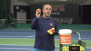 Orange Balls with Slogans