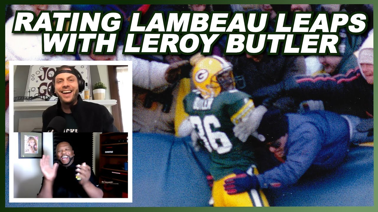 Rating Lambeau Leaps With LeRoy Butler
