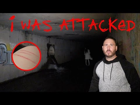 THE HAUNTED FUTURE TUNNEL ***ATTACKED***