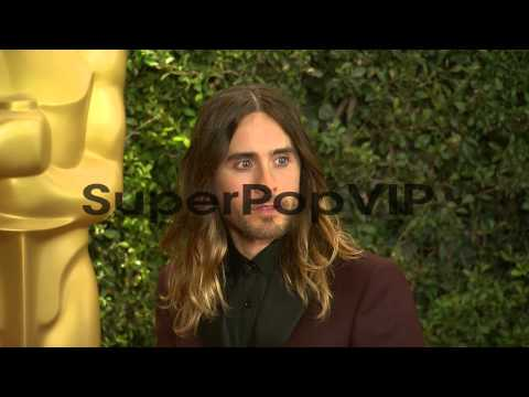 Jared Leto at Academy Of Motion Picture Arts And Sciences...