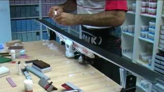 HWK-Wachsvideo Alpin: Finish-Behandlung vor dem Start