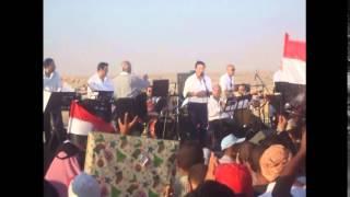 لطيفة والحلو وغادة رجب فى أول مهرجان فنى بقناة السويس الجديدة