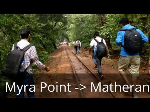 Dasturi car parking to Matheran hill station: Walk