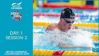 British Swimming Championships 2019 – Session 2