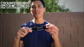 Epitomie Fitness Sonic Boom M2 Jump Rope Review