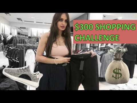 $300 SHOPPING CHALLENGE !!!