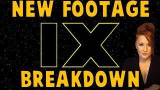 Star Wars Episode IX Footage Breakdown