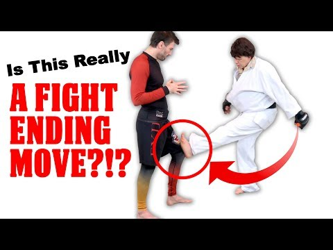 Martial Arts Mythbusting: Is A Knee Kick Really A Fight Ending Move?