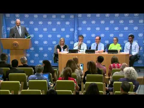 Syria: Bashar Ja'afari Syria and US observers on the Syrian presidential elections   Press Conferenc