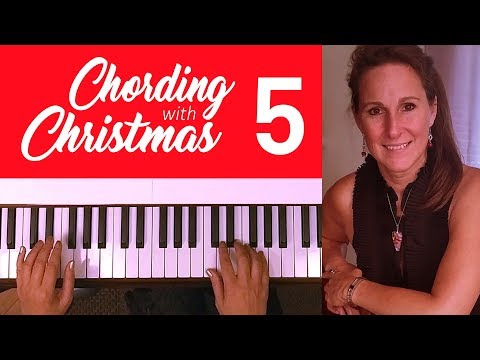 5 - Joy to the World - Piano Chording Christmas Lesson - Playing from Leadsheets