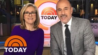 Meredith Vieira Returns To Studio 1A, Anchors' Put Their Pets To The Test | Slice of Orange | TODAY