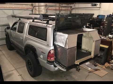 Truck Build Design Guide: Part 8 - Applying the weatherproof finish