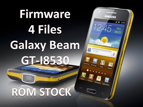 Firmware 4 Files  4.1.2 Galaxy Beam GT-I8530 / Desbrick / Rom Stock / Solved Done