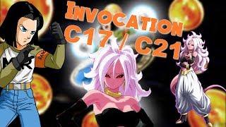 Invocation C17 MVP et C21 // Dragon Ball Z Dokkan Battle