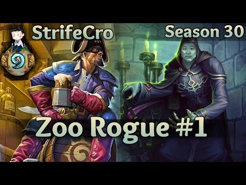 Hearthstone Zoo Rogue S30 #1: A Curatorial Curiosity