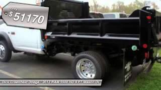 2012 RAM 5500 HD 9 FT Mason Dump ST/SLT Lawrenceville NJ 08648