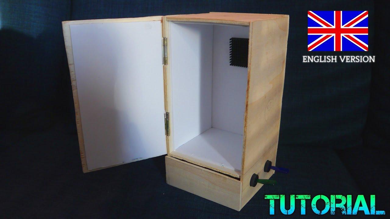Mini Fridge Selfmade Tutorial With Peltier Module Diy