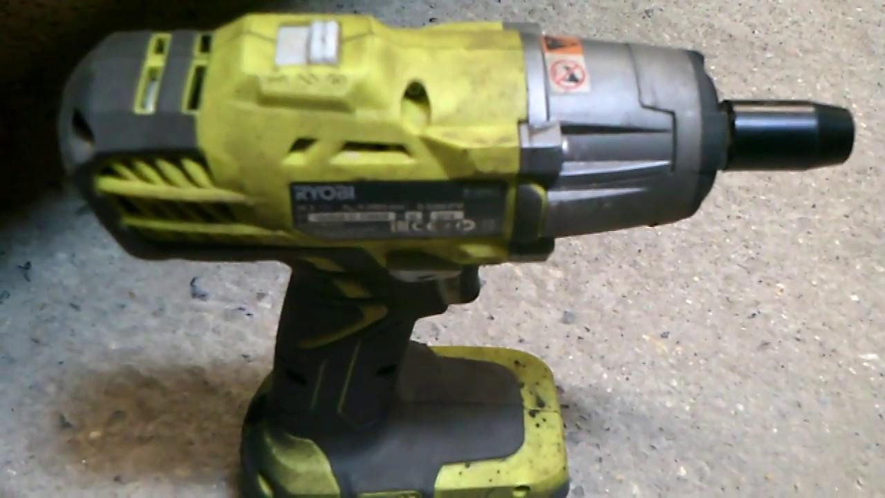 Ryobi Impact Wrench Review