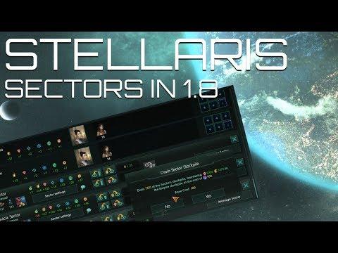 Stellaris for Beginners - Sector Management in 1.8 Čapek