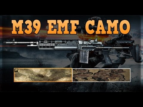 BF3: M39 EMR Camos For End Game! (Guide)