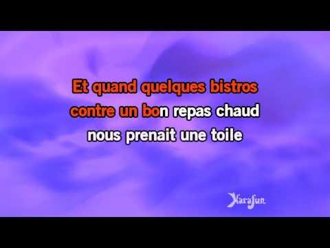 Karaoké La bohème (Live) - Garou *