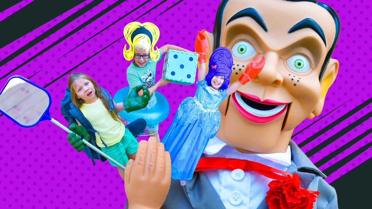 Caught in the game of Billy the TERRIFYING DOLL! Who's gonna make it out of it