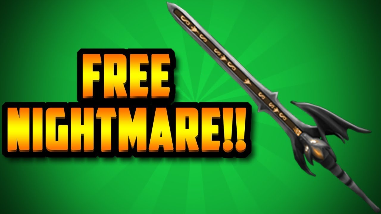 You Can Get A Free Nightmare Exotic Roblox Assassin Youtube