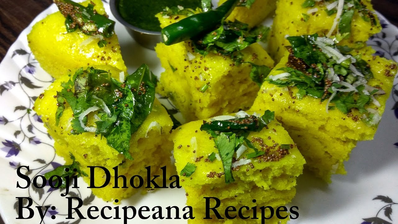 Sooji dhokla recipe instant rava dhokla at home recipeana sooji dhokla recipe instant rava dhokla at home recipeana forumfinder Image collections