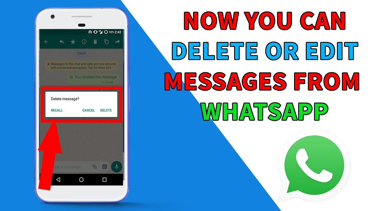 how to delete sent messages