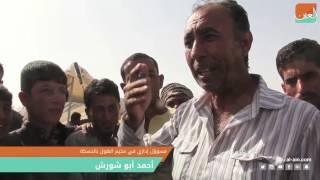 """غرفة الأخبارسياسة  """"العين"""" ترصد وصول مئات النازحين العراقيين إلى سوريا قبيل معركة الموصل"""