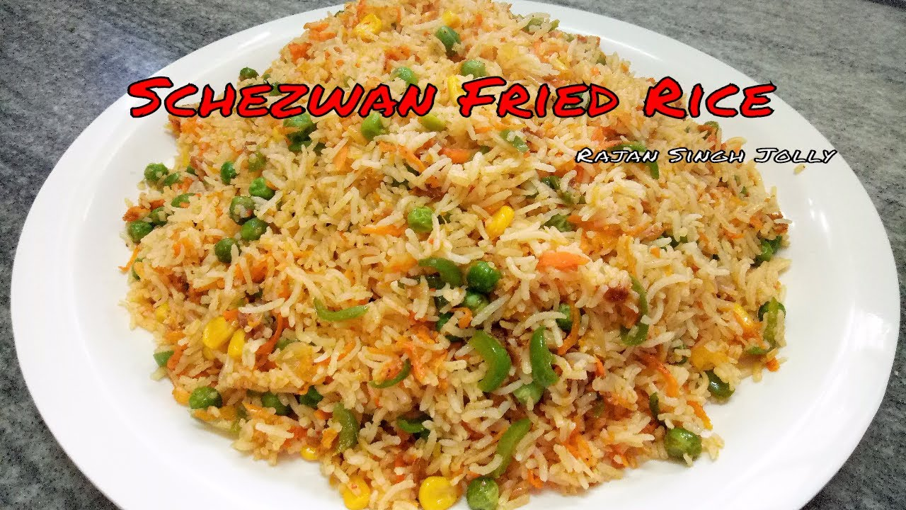 Schezwan fried rice recipe in hindi schezwan fried rice recipe in hindi veg schezwan fried rice chinese fried rice ccuart Images